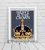 Heavy Is The Crown Crochet Graphghan Pattern SC 180 x 249