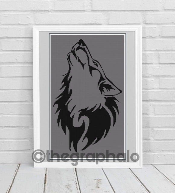 Howling Wolf Graphghan SC160x300