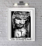 Jesus Christ On The Cross Photo Graphghan Crochet Pattern
