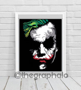 The Killing Joke - Joker Crochet Graphghan Pattern