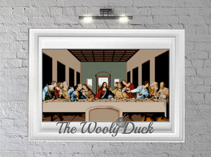 The Last Supper Crochet Graphghan Pattern