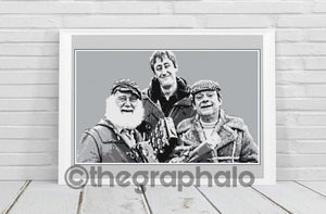 Only Fools and Horses Crochet Graphghan Photoghan