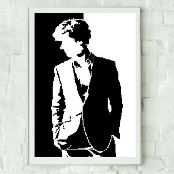Cross Stitch Sherlock Pattern