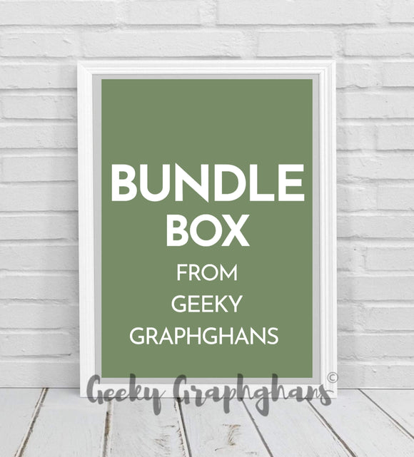 Bundle Box From Geeky Graphghans