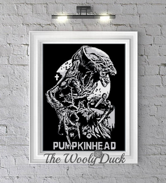Pumpkinhead Crochet Graphghan Pattern