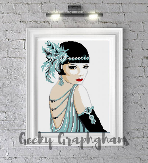 Roaring Twenties Crochet Graphghan Pattern