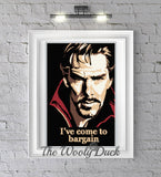 Doctor Strange inspired crochet graphghan pattern