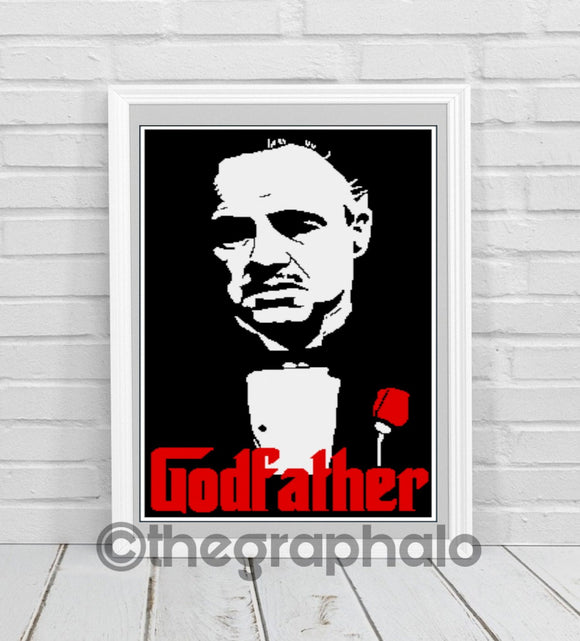 The Godfather Crochet Graphghan Pattern