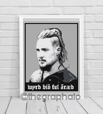Uhtred Ragnarsson Crochet Graphghan Pattern