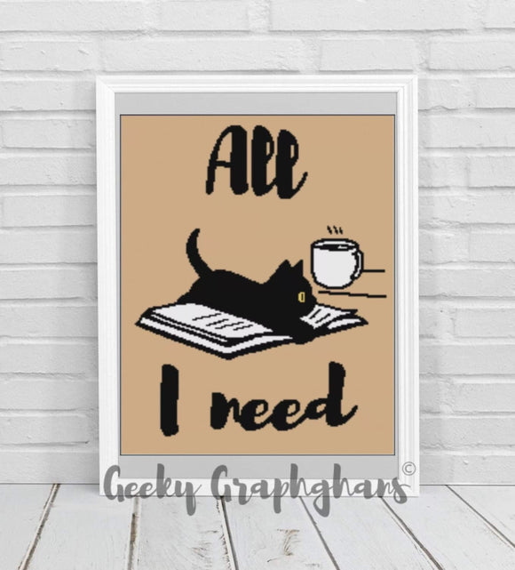 All I Need Crochet Graphghan Pattern