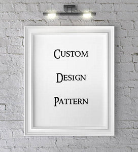 Create Custom Crochet Pattern for Single Crochet / Cross Stitch Pattern/ Corner 2 Corner