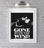 Gone with The Wind inspired 4 colours (150 x 210 st) graphghan pattern