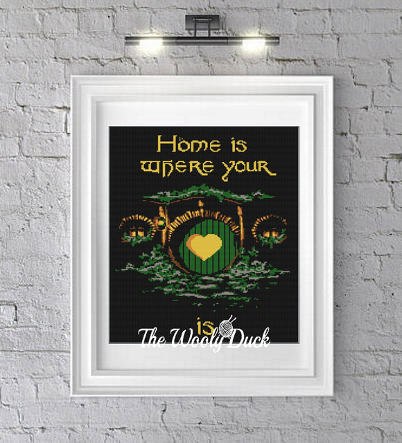 Home Is Where The Heart Is Crochet Graphghan Pattern