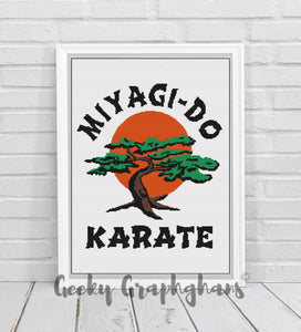 Miyagi Do Karate Crochet Graphghan Pattern