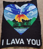 Cross Stitch I Lava You Pattern