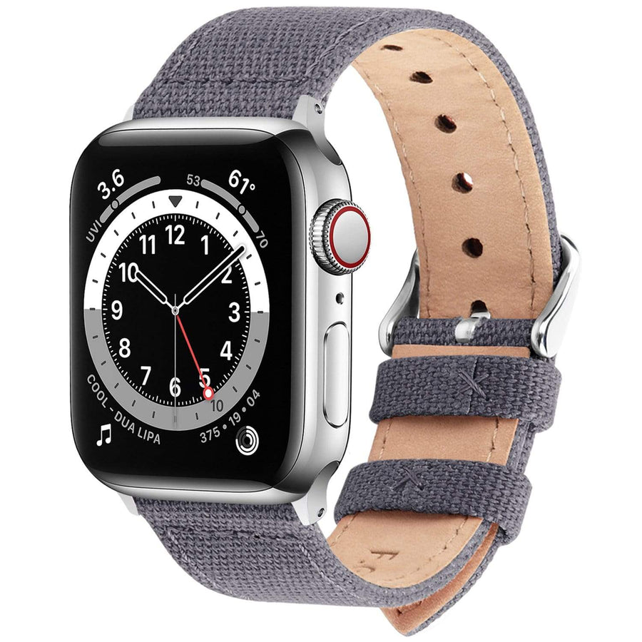Apple Watch Band | Nordic Grey Canvas Fullmosa 38mm/40mm