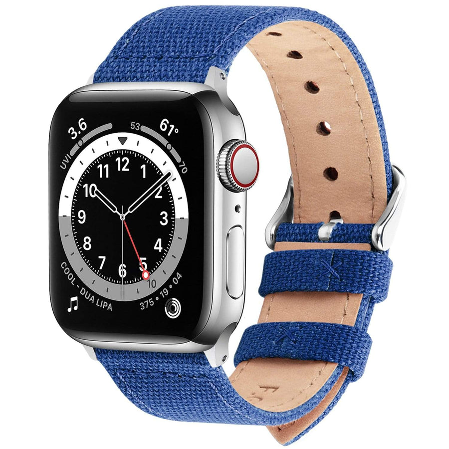 Apple Watch Band | Sapphire Blue Canvas Fullmosa 38mm/40mm