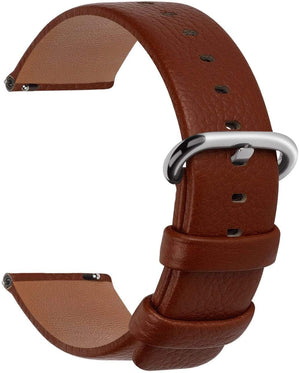 Brown | Litchi Leather Fullmosa 18mm