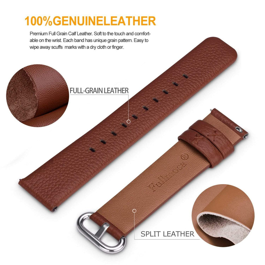 Brown | Litchi Leather Fullmosa