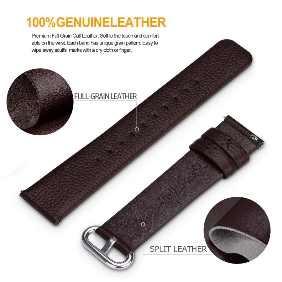 Dark Brown | Litchi Leather Fullmosa