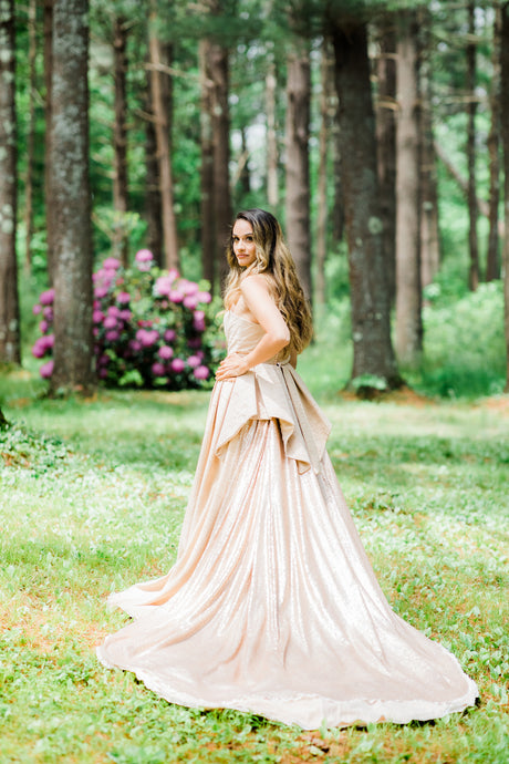 Champagne Blush Gown