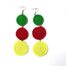 Load image into Gallery viewer, Gale Drop Crochet Earring
