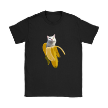 Banana Kitty Womens Shirt - Kitty Swag Funny Cat T-shirts