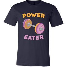Power Eater Mens Shirt - Kitty Swag Funny Cat T-shirts