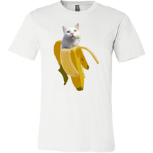 Banana Kitty Mens Shirt - Kitty Swag Funny Cat T-shirts