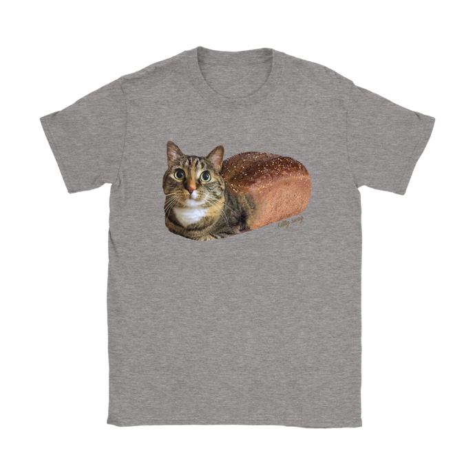 Pumpernickel Cat Loaf Womens Shirt - Kitty Swag Funny Cat T-shirts