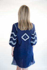 Cotton Embroidered Cover-up By Gretchen Scott