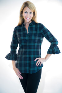Tartan Plaid Priss Blouse
