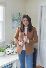 Load image into Gallery viewer, Cashmere Flag Sweater By navyBLEU