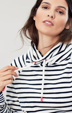 Load image into Gallery viewer, Mayston Funnel Neck Velour Sweatshirt By Joules