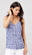 Load image into Gallery viewer, Blue Shells Carper Cami By Joules