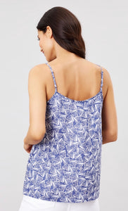 Blue Shells Carper Cami By Joules