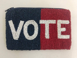VOTE coin purse