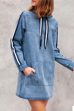 Load image into Gallery viewer, Soft Denim Front Pocket Dress