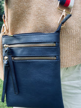 Load image into Gallery viewer, Navy Cross Body Bag