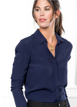 Load image into Gallery viewer, The Navy Signature Shirt By Rochelle, The Shirt