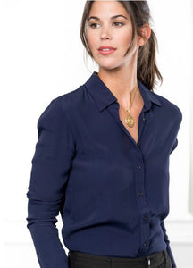 The Navy Signature Shirt By Rochelle, The Shirt