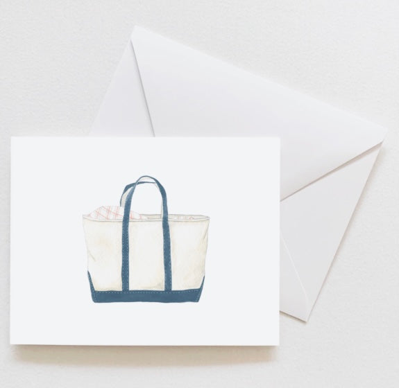 Canvas Tote Notecards By Sara Fitz