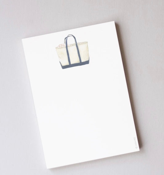 Tote Notepad By Sara Fitz