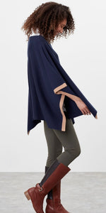 Vienna Knitted Poncho By Joules