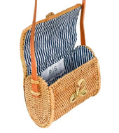Nantucket Rattan Bag