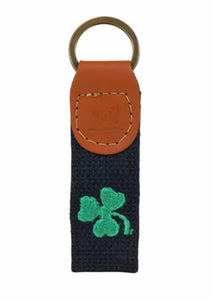 Shamrock Key Fob By Belted Cow