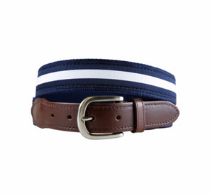 Men's navy Belt