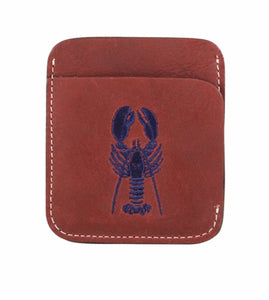 Portland Wallet - Lobster By Belted Cow