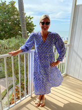 Load image into Gallery viewer, Caroline Midi Coverup by navyBLEU
