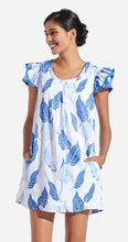 Load image into Gallery viewer, Persifor Blue Flutter dress